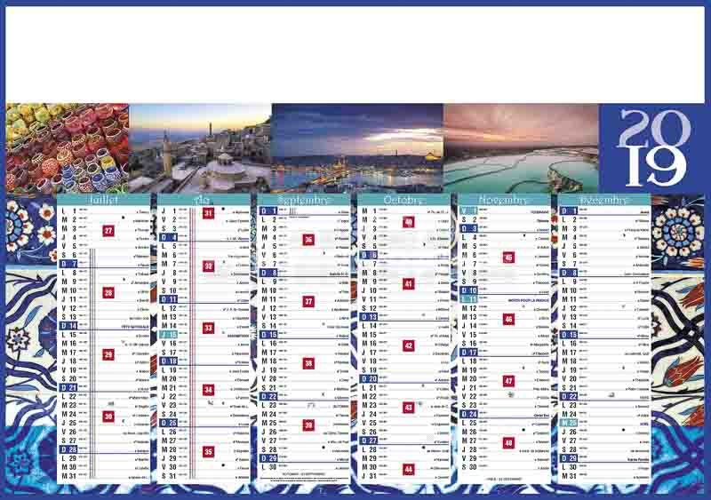 Calendrier-publicitaire-bancaire-paysages-7-mois