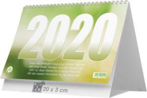 Calendrier chevalet 3 mois de bureau 14 feuillets CB 1520 eco