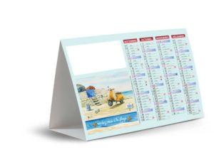 Calendrier-publicitaire-chevalet-de-comptoir-publicitaire-plage-2020