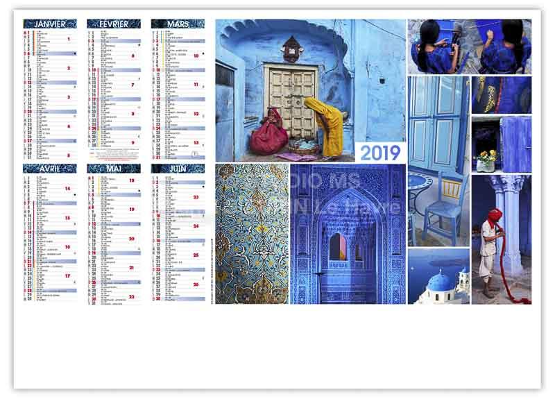 calendrier-publicitaire-bancaire-john-recto-2019