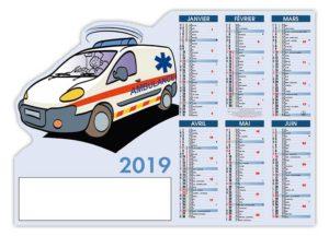 calendrier-bancaire-pro-découpé-ambulancier-2019