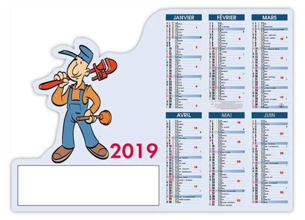 calendrier-bancaire-pro-découpé-plombier-2019