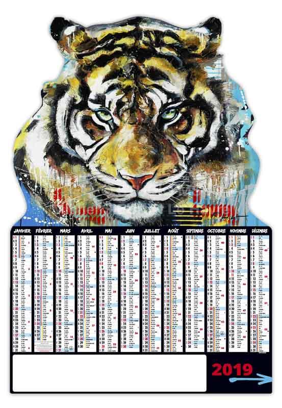 calendrier-bancaire-tiger-decoupe-12-mois-2019