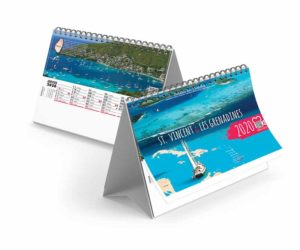 Calendrier-publicitaire-chevalet-13-feuilles-Caraïbes-2020