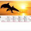 Calendrier-chevalet-standard-13-feuillets-caraibes-aout-2020