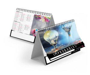 Calendrier-publicitaire-chevalet-de-table-std-7-mois-improbables-2020