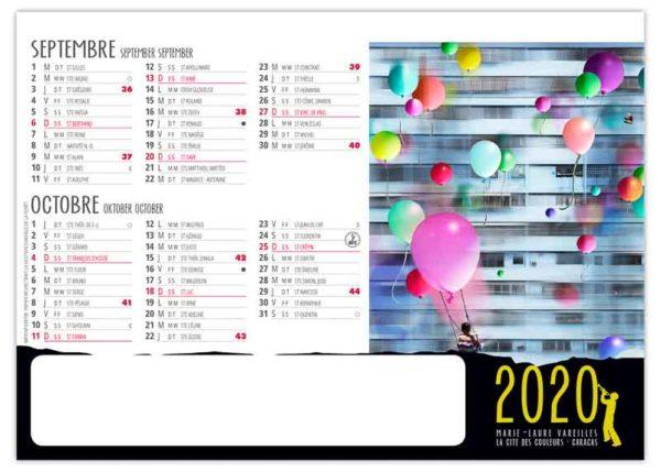 Calendrier-publicitaire-chevalet-de-table-std-7-mois-improbables-septembre-2020