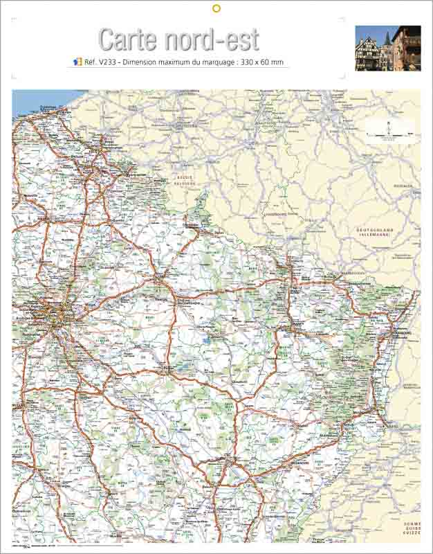 Calendrier-publicitaire-bancaire-publicitaire-verso-carte-nord-est-V233