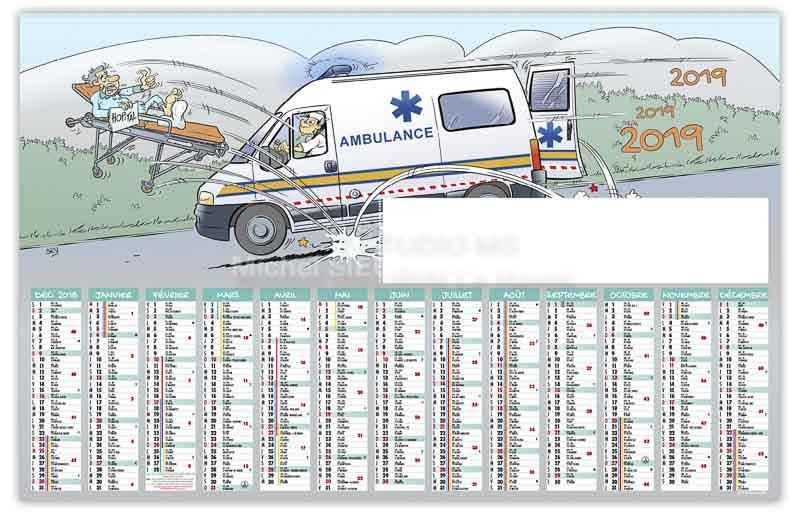 calendrier-bancaire-ambulancier-13-mois-2019
