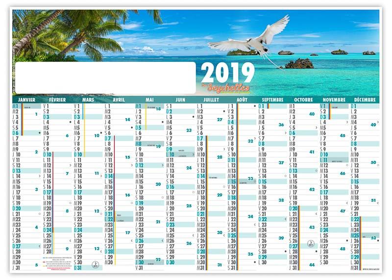 calendrier-publictaire-planning-effacable-seychelles-2019