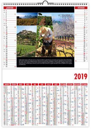 Calendrier-spirale-2-en-1-couleurs-provence-janvier-fevrier-2019