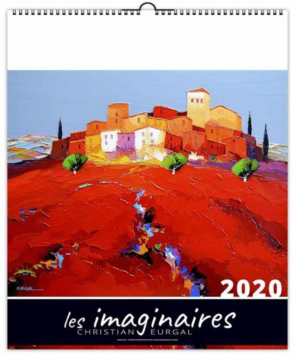 calendrier-illustre-publicitaire-les-imaginaires-peinture-de-la-provence-2020