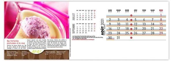 mois aout calendrier maxi recette de cuisien