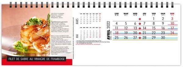 calendrier-publicitaire-chevalet-maxi-de-table-13-feuilles-recettes-gourmandes-avril-2022