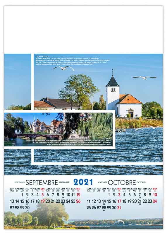 calendrier-publicitaire-mural-illustre-feuilles-paysages-de-france-strasbourg