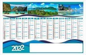 calendrier-publicitaire-bancaire-planning-personnalise-13 mois-planete-2022