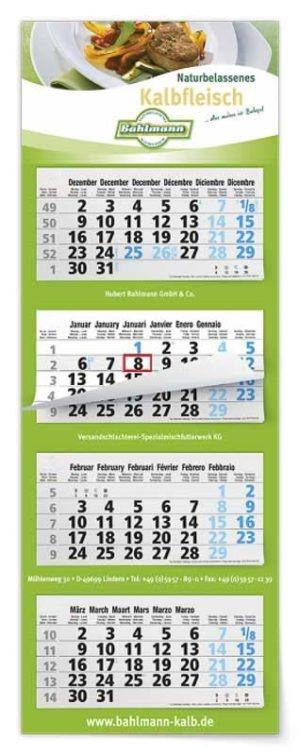 Calendriers publicitaires 3, 4 & 6 mois multiblocs
