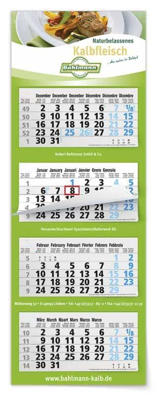 Calendrier-professionel-4-mois-feuillets-multi-blocs-maxi