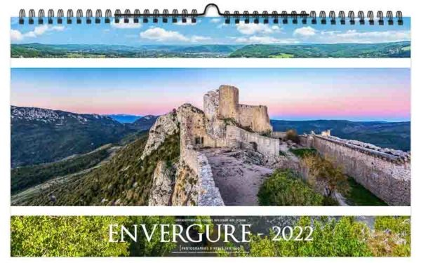 calendrier publicitaire illustré photographies de le France