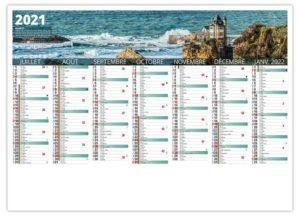 Calendrier bancaire région basque