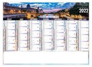 calendrier-publicitaire-bancaire-personnalise-7-mois-liberte-paris-verso-2022