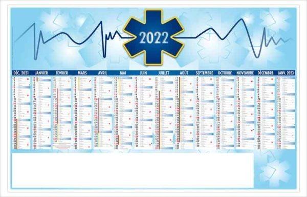 calendrier-publicitaire-bancaire-planning-personnalise-14-mois-croix-bleue-2022