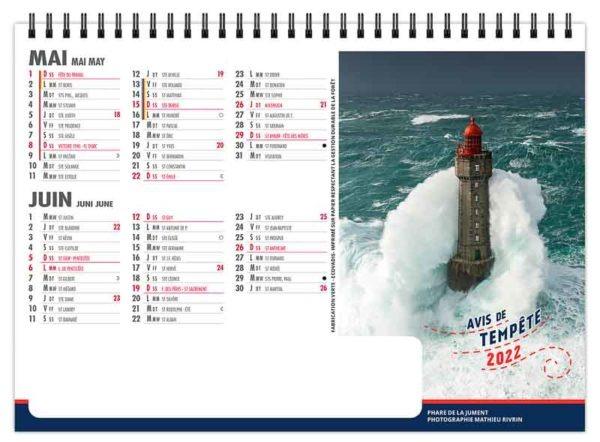 calendrier-publicitaire-chevalet-standard-de-bureau-7-feuilles-avis-de-tempete-mai-juin-2022