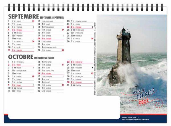 calendrier-publicitaire-chevalet-standard-de-bureau-7-feuilles-avis-de-tempete-septembre-octobre-2022