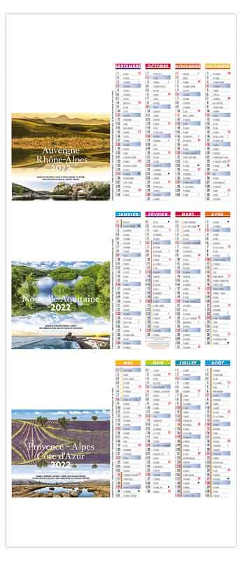 calendrier-publicitaire-chevalet-de-comptoir-paysages-de-france-2022