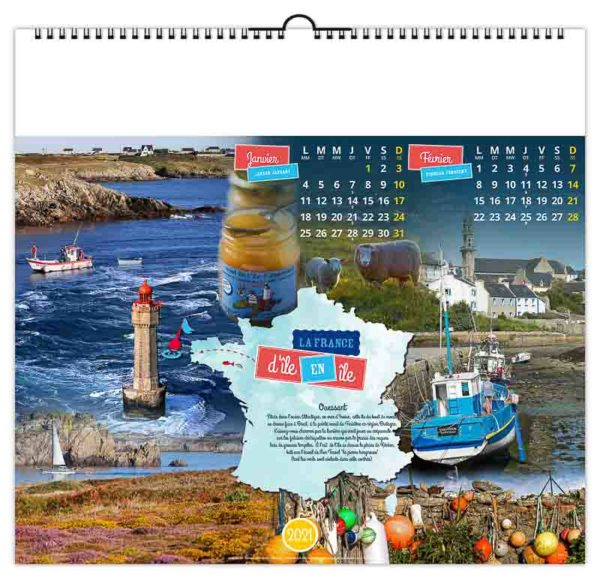 calendrier-publicitaire-mural-illustre-7-feuilles-la-france-ile-janvier-fevrier