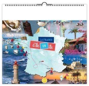 calendrier-entreprise-publicitaire-mural-illustre-feuilles-la-france-d-ile-en-ile-couverture-2021