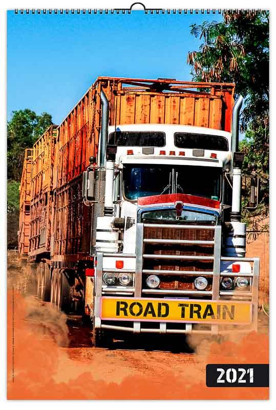 calendrier-entrepise-publicitaire-mural-illustre-feuilles-train-routier-australien