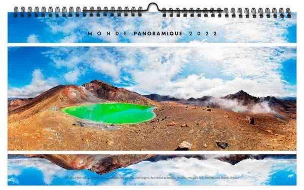 calendrier mural illustré photographies du monde lac de montagne