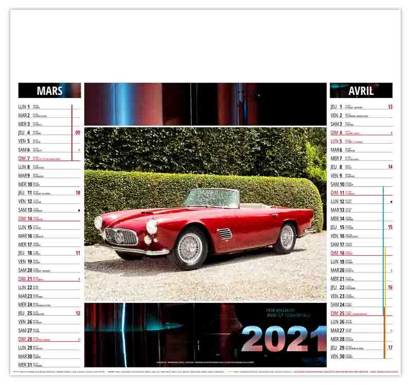 calendrier-publicitaire-pas-cher-illustre-automobiles-sport-mars-avril-2021