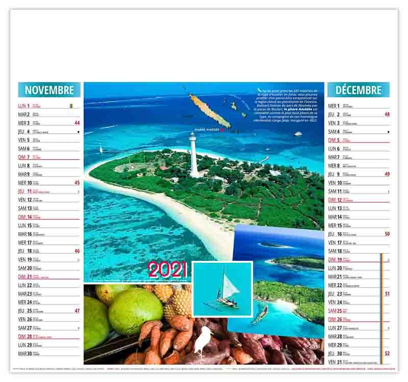 calendrier-publicitaire-pas-cher-illustre-nouvelle-caledonie-6-feuilles
