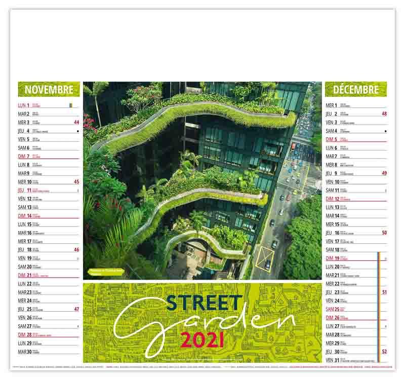 calendrier-entreprise-publicitaire-pas-cher-illustre-immeuble-en-verdure