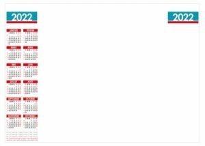 calendrier publictaire entreprise-planning-mural-effaçable 12-mois-2022
